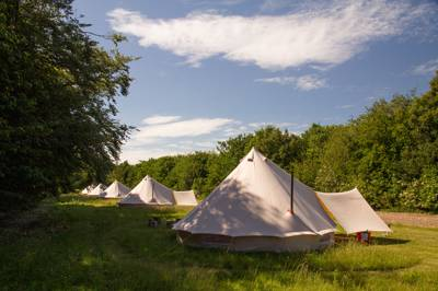 Amber's Bell Tent Camping at Wiveton Hall Wiveton Hall, 1 Marsh Ln, Wiveton, Holt NR25 7TE