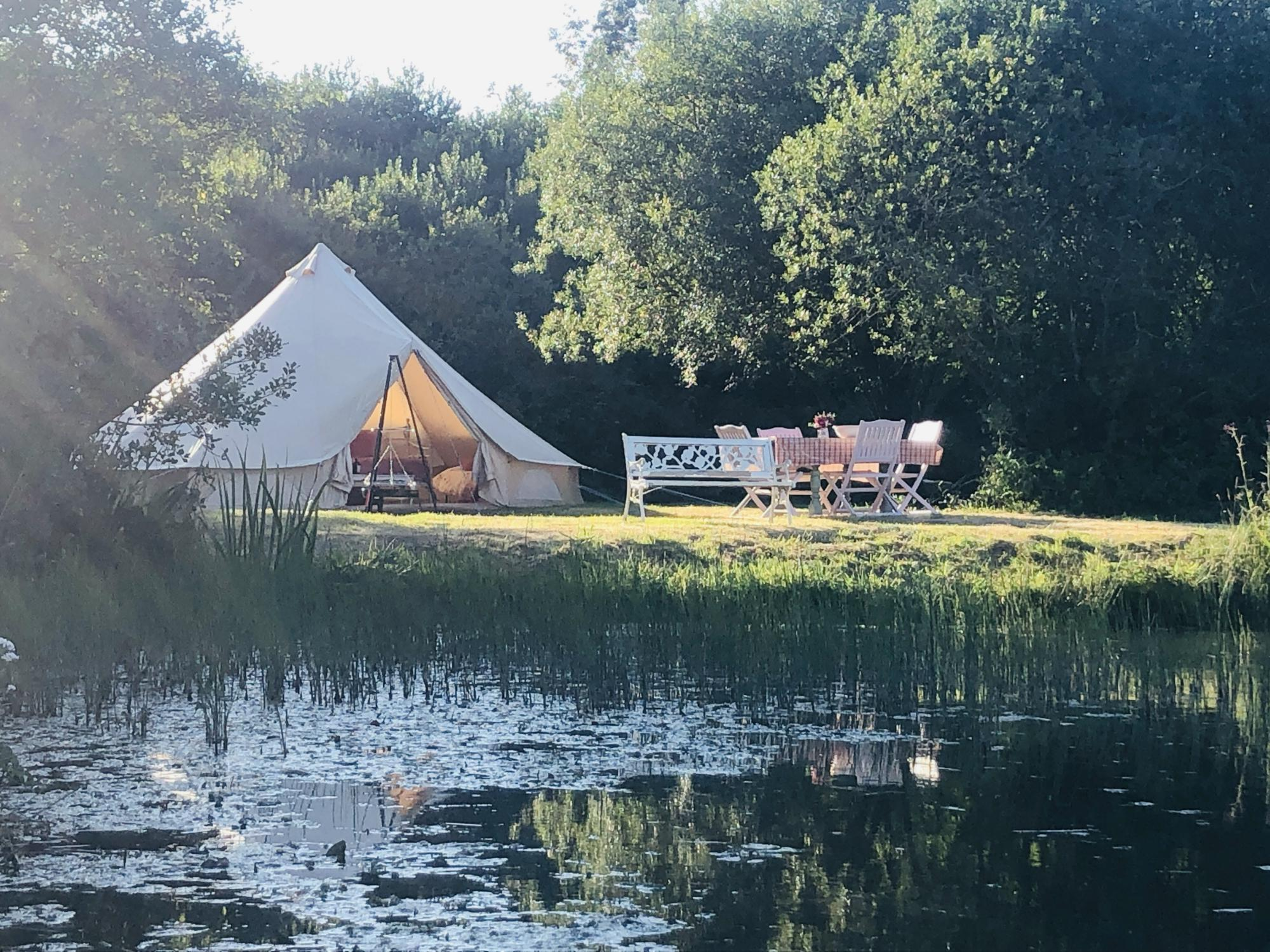 Campsites in St. Austell holidays at Cool Camping