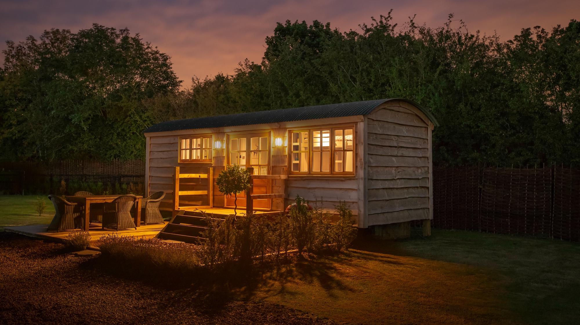 Shepherd's Huts in England