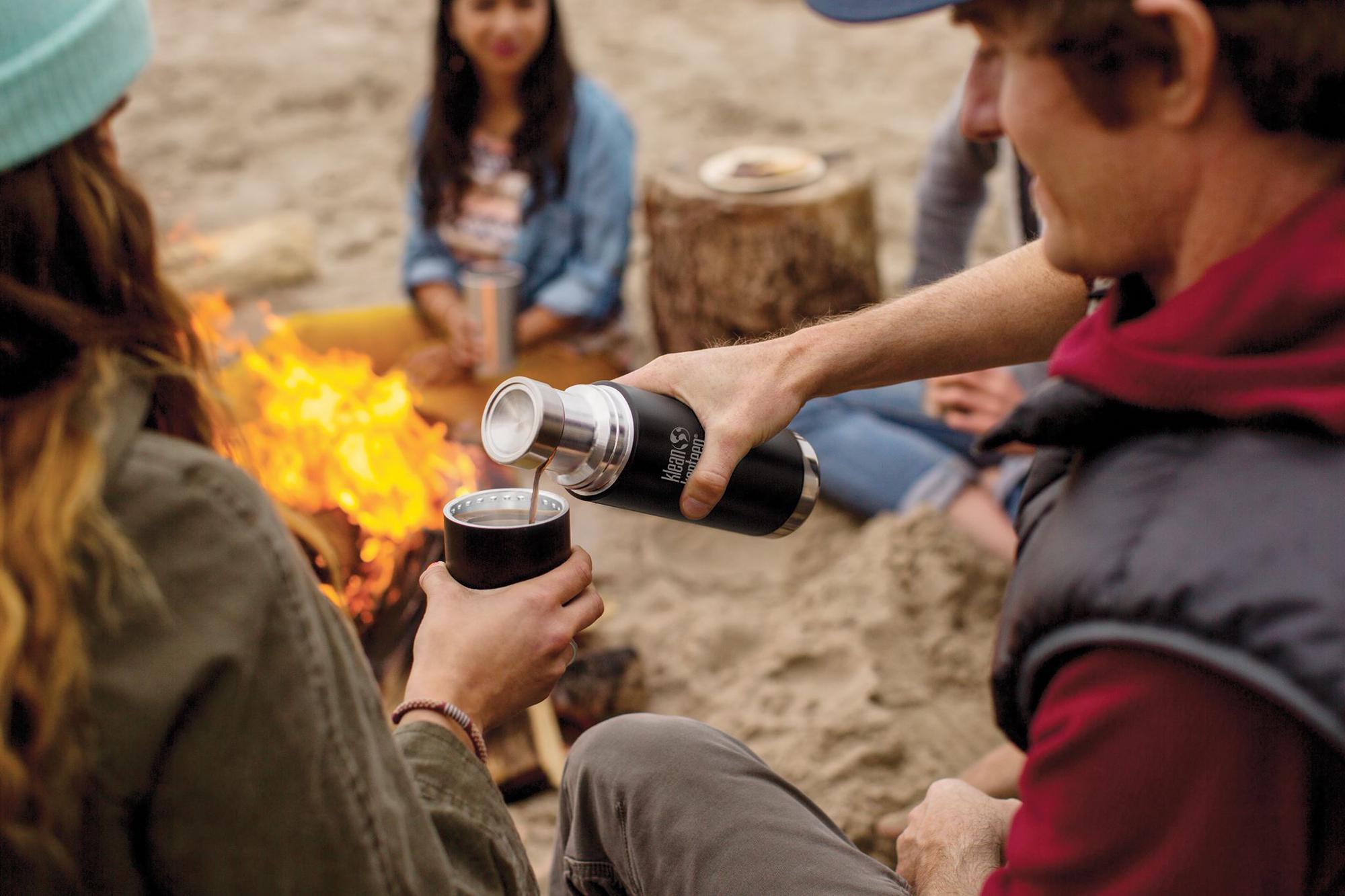 """The TKPro from Klean Kanteen – """"keep hot drinks hot for at least 20 hours and cold ones icy cool for a staggering 75"""""""
