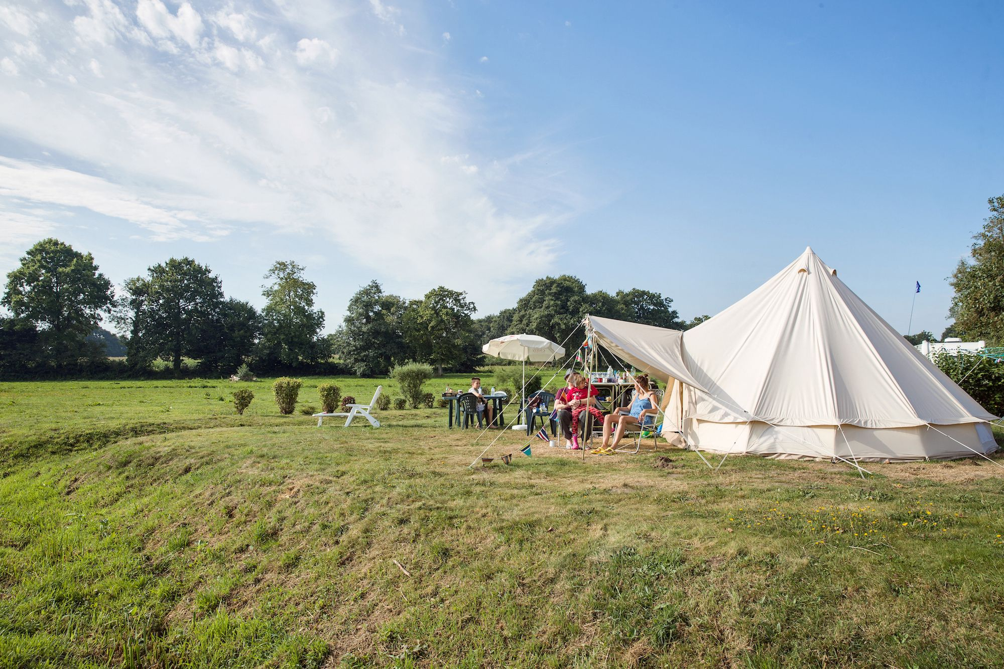 Glamping in Manche, France