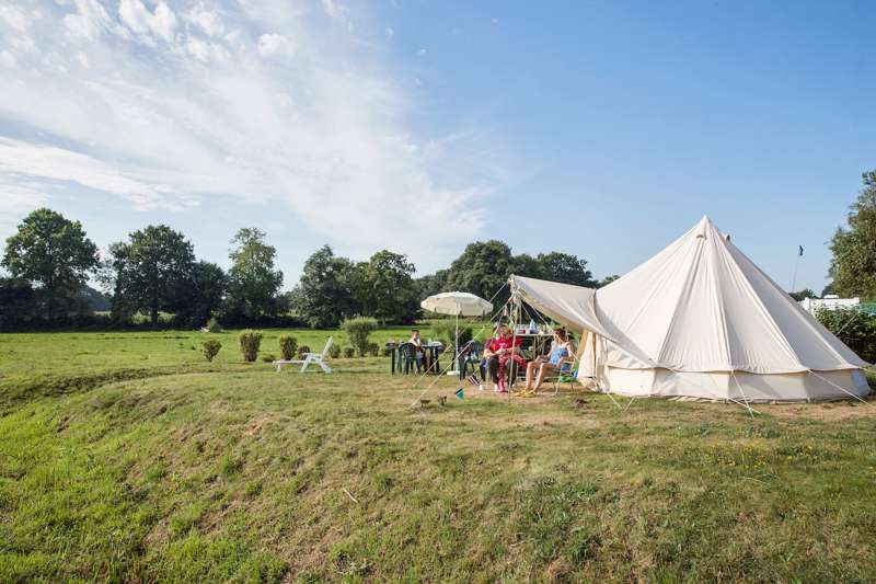 Glamping in Normandy, France