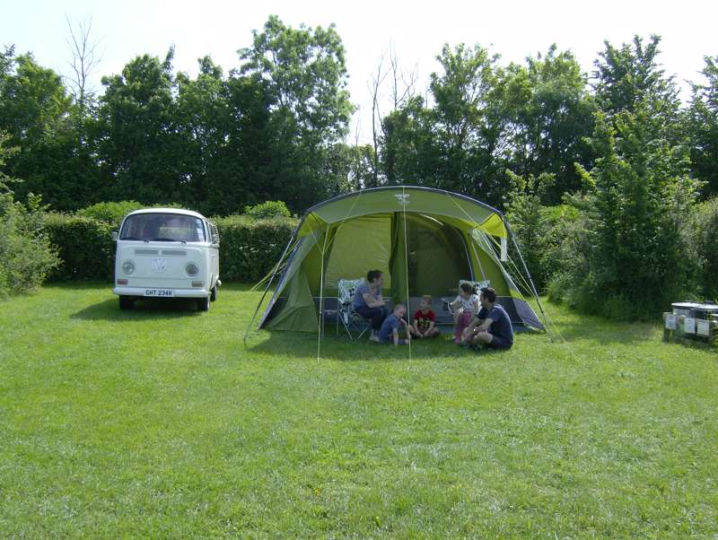 Large grass pitch - campsite 1