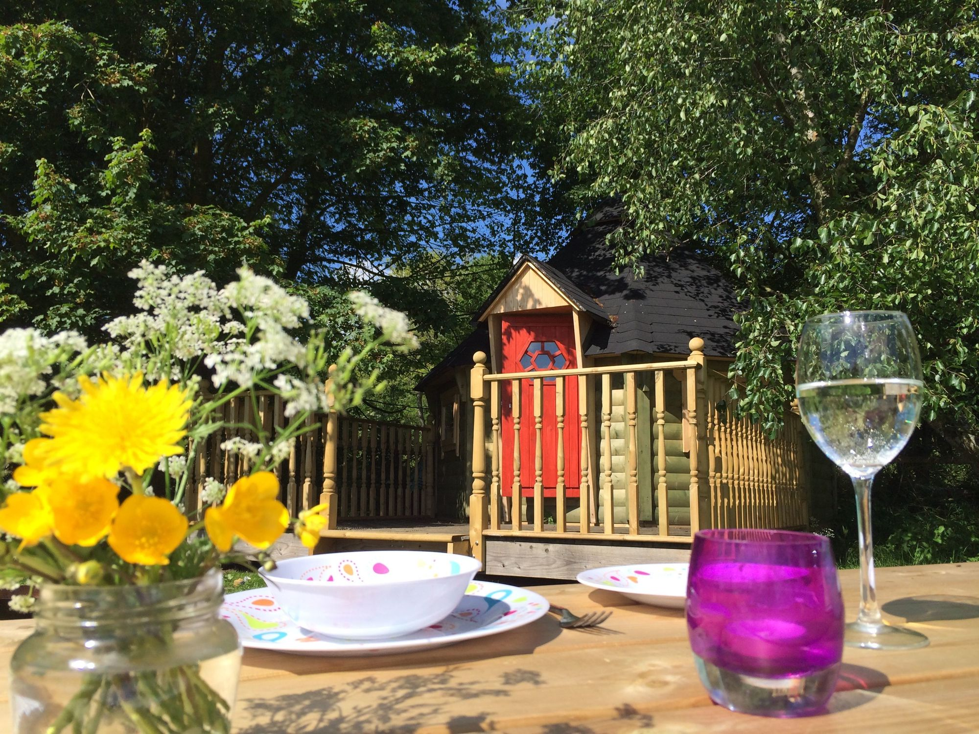 Glamping in Suffolk holidays at Cool Places