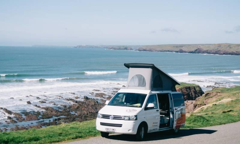 Campervan hire in Wales