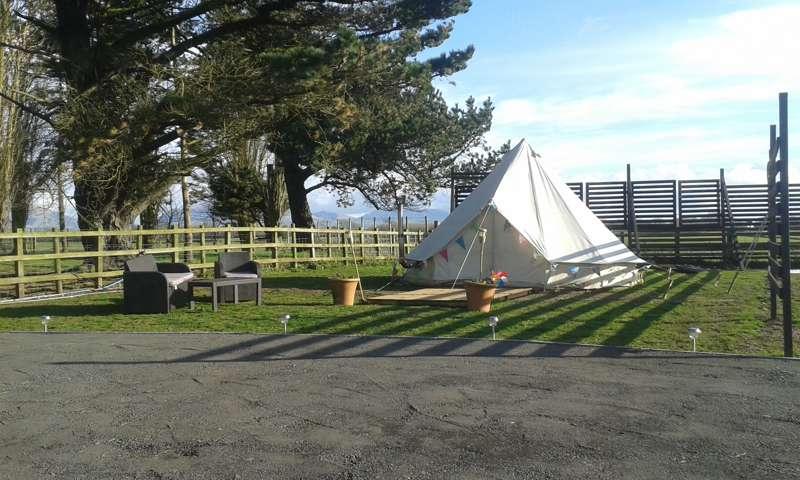 Anglesey Yurt Glamping The Coach House, Bryn Gwyn Hall, Llanfair PG, Anglesey LL61 6UT