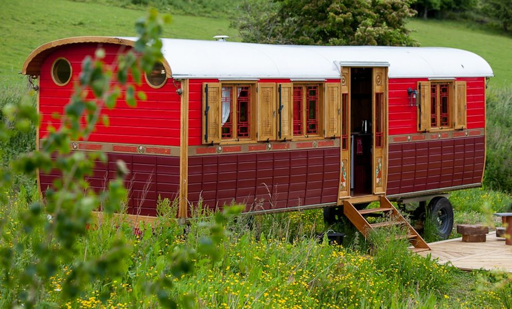 Glamping in Scottish Borders holidays at Cool Places
