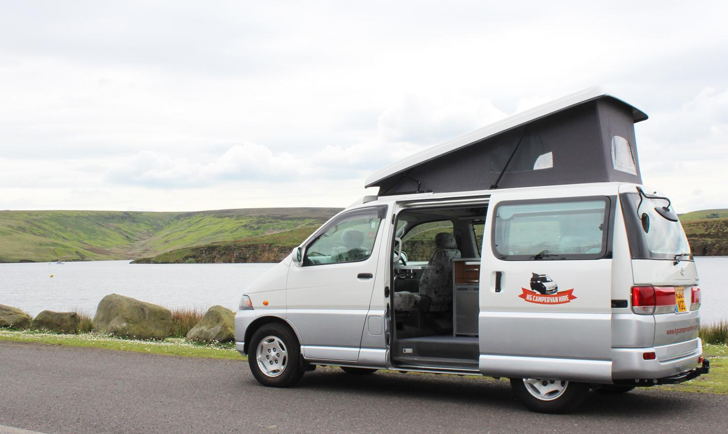 Campervans in North West England holidays at Cool Camping