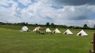 Yurts and Bell Tents in the quiet Dorset countryside, ideal for hiring out exclusively to throw parties and gatherings.