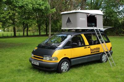 4-seater 4-sleeper Bumble Bus campervan