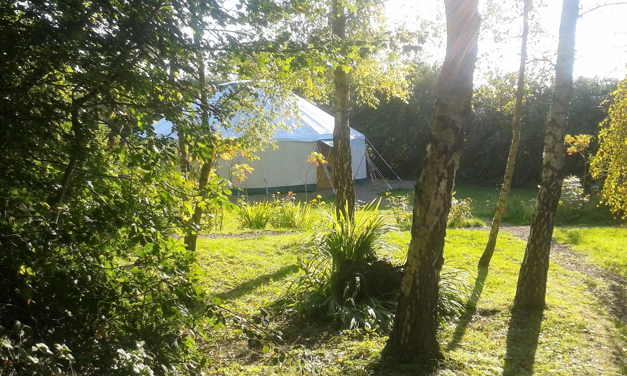 Yurt retreats in the Forest of Dean that bring a real break to every day life with weekend events such as yoga, creative textiles and other well-being activities.
