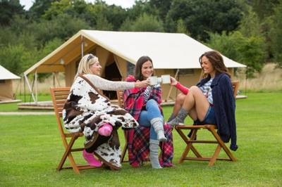 The perfect place for a glamping holiday on the coast of West Wales.