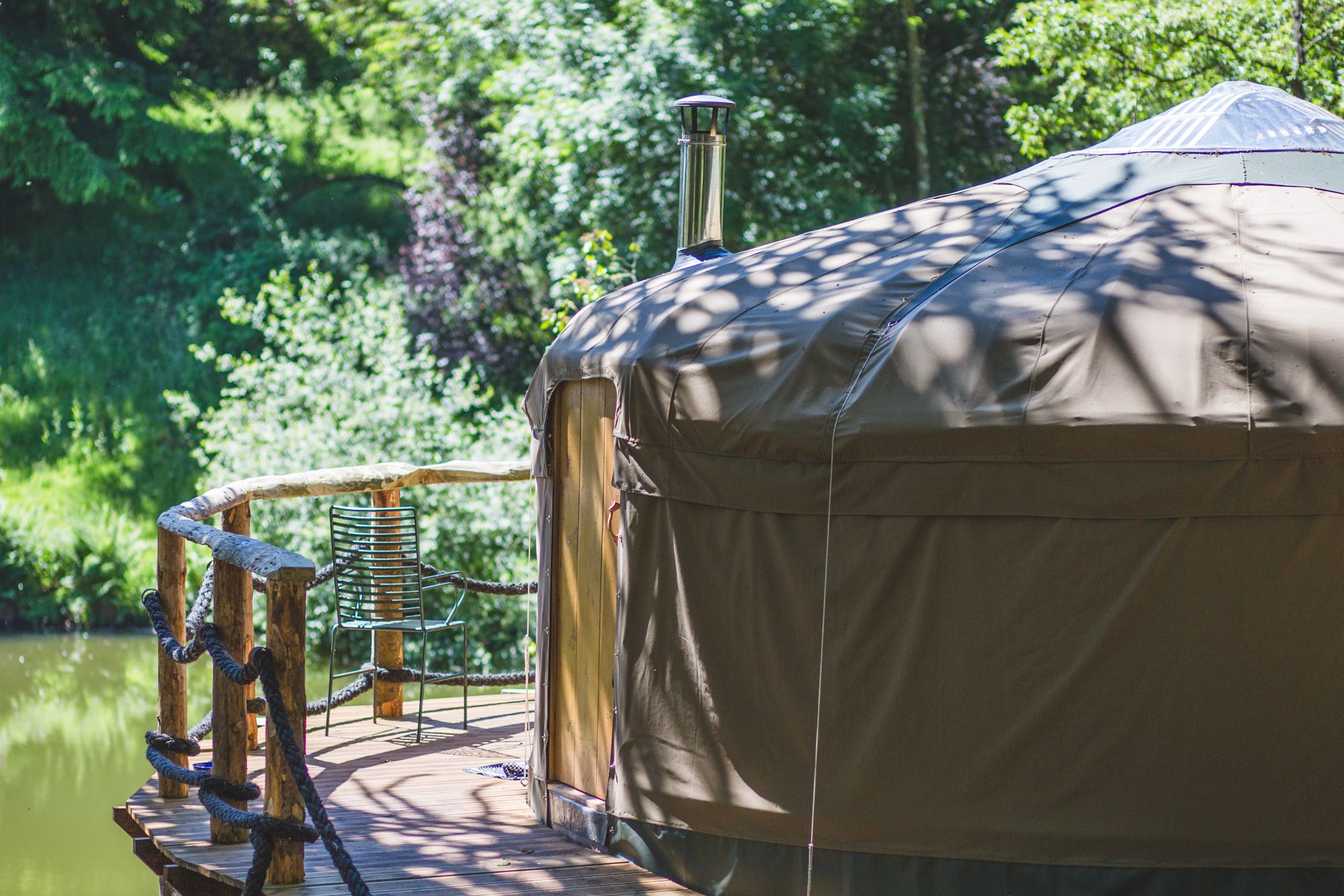Glamping sites  - best UK glamping holidays - Cool Places to Stay in the UK