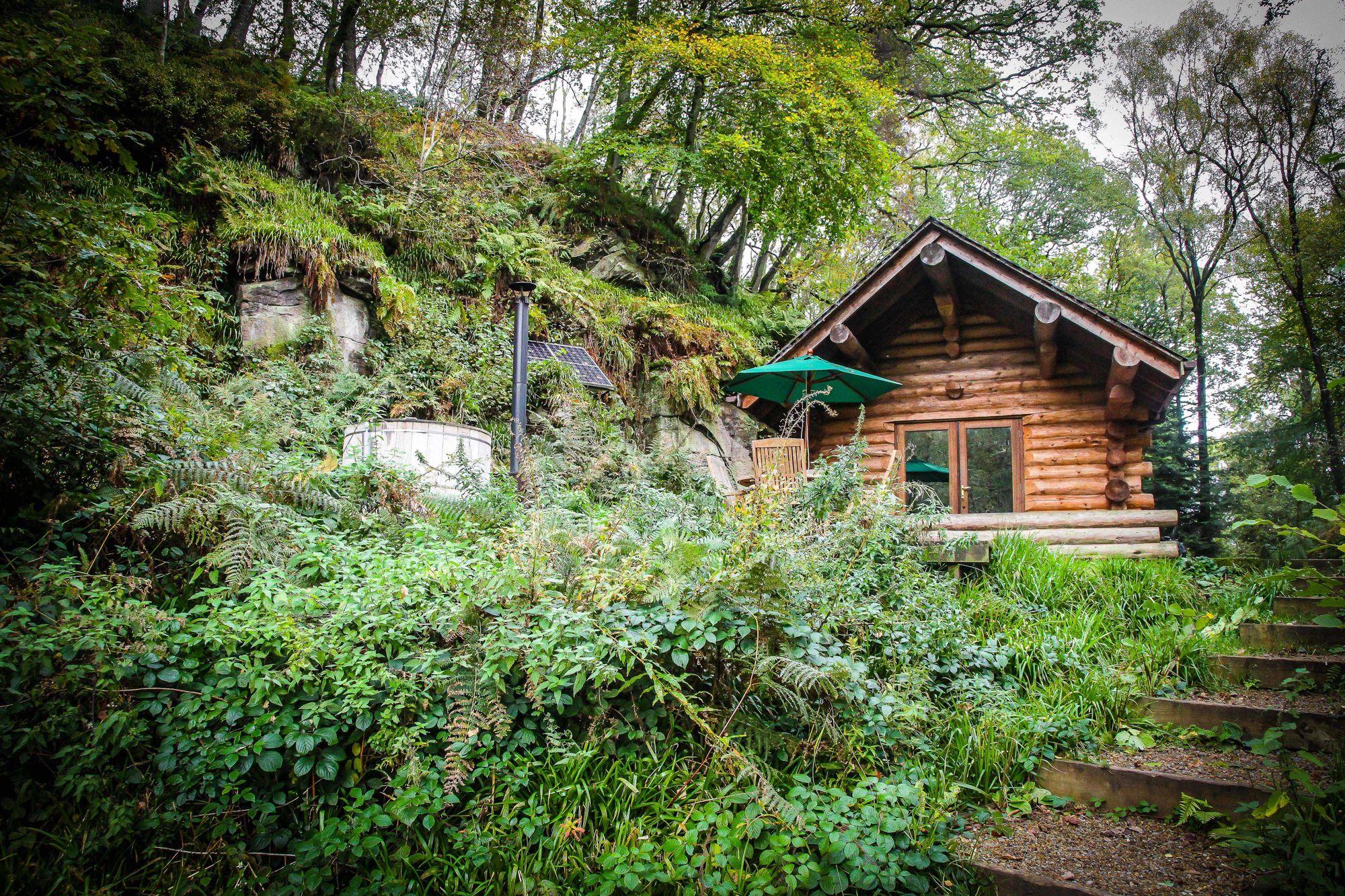 Shank Wood Log Cabin