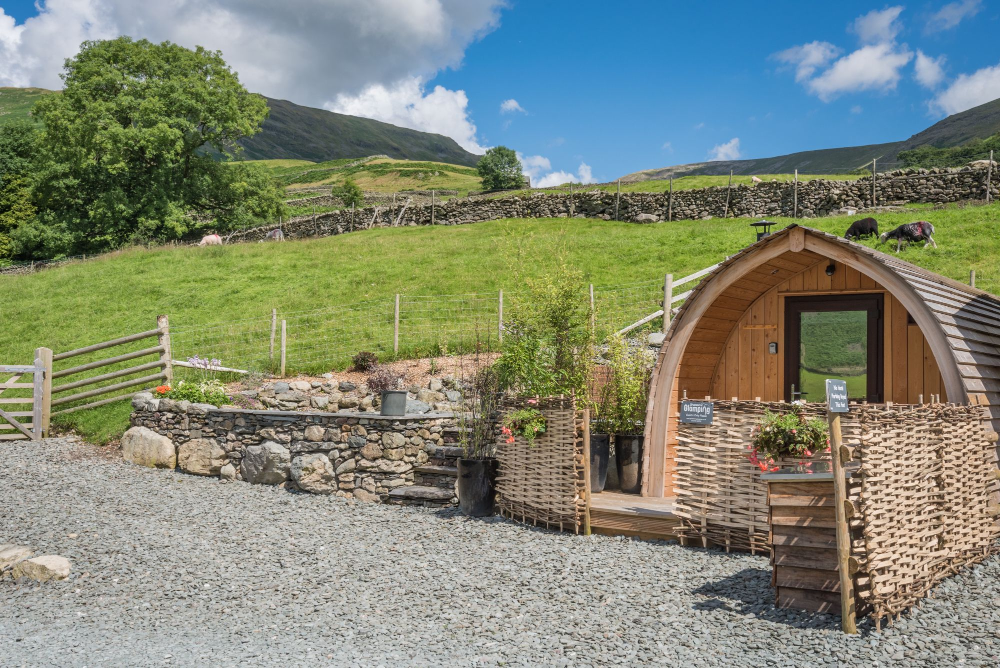 Glamping in Grasmere holidays at Cool Places