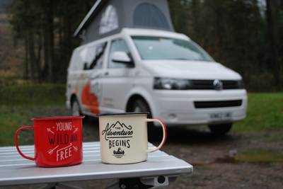Win a weekend's campervan hire courtesy of Taffi Campers!