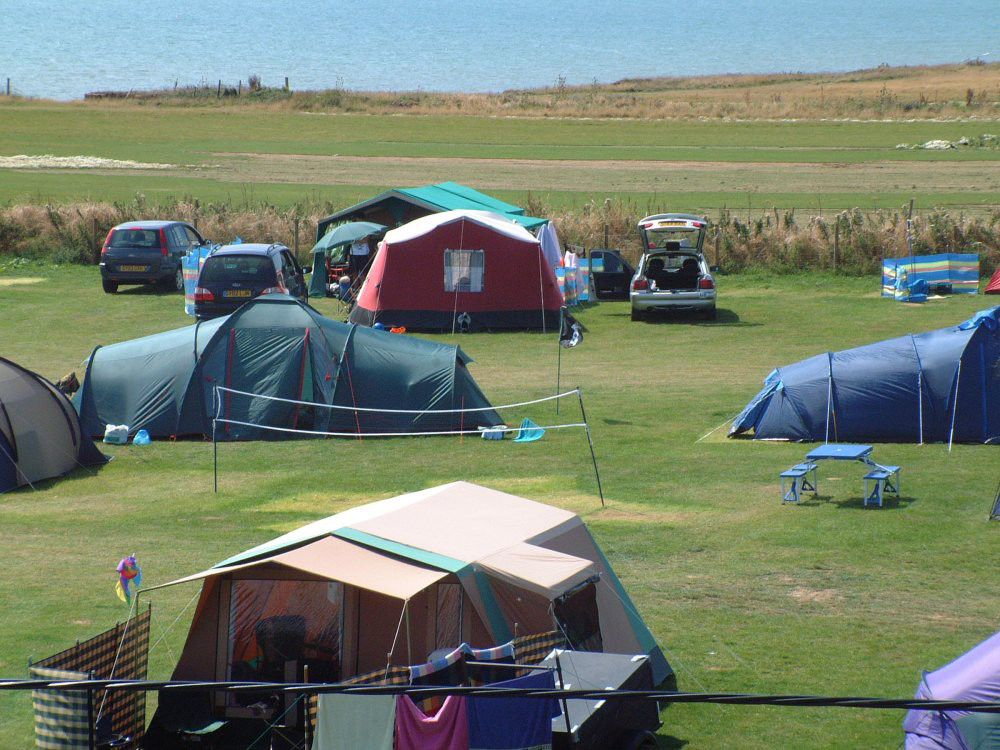 Campsites in Brighstone holidays at Cool Places