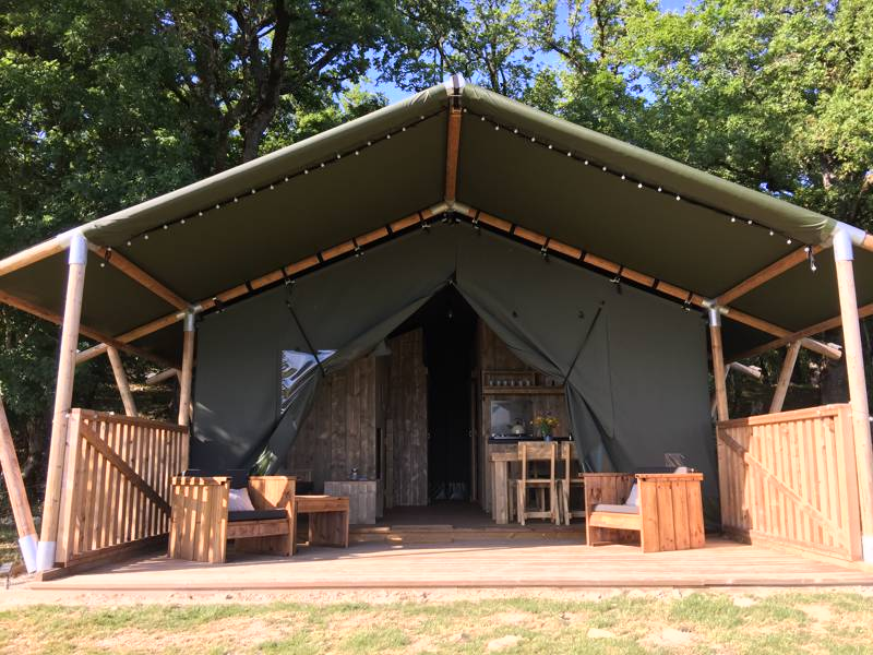 Safari Tent - Hirondelle