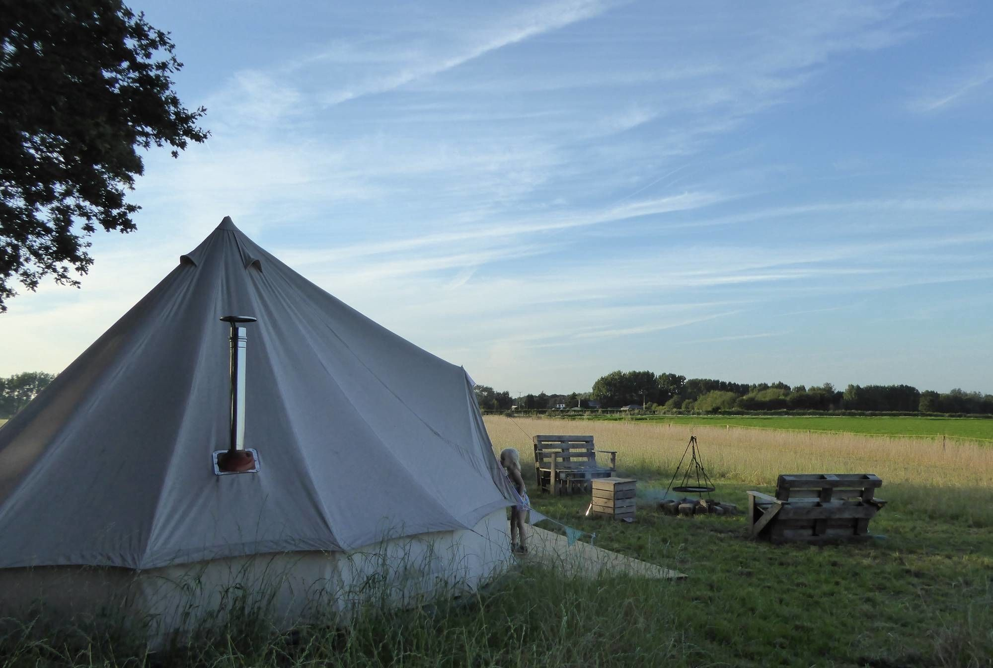 Campsites in England