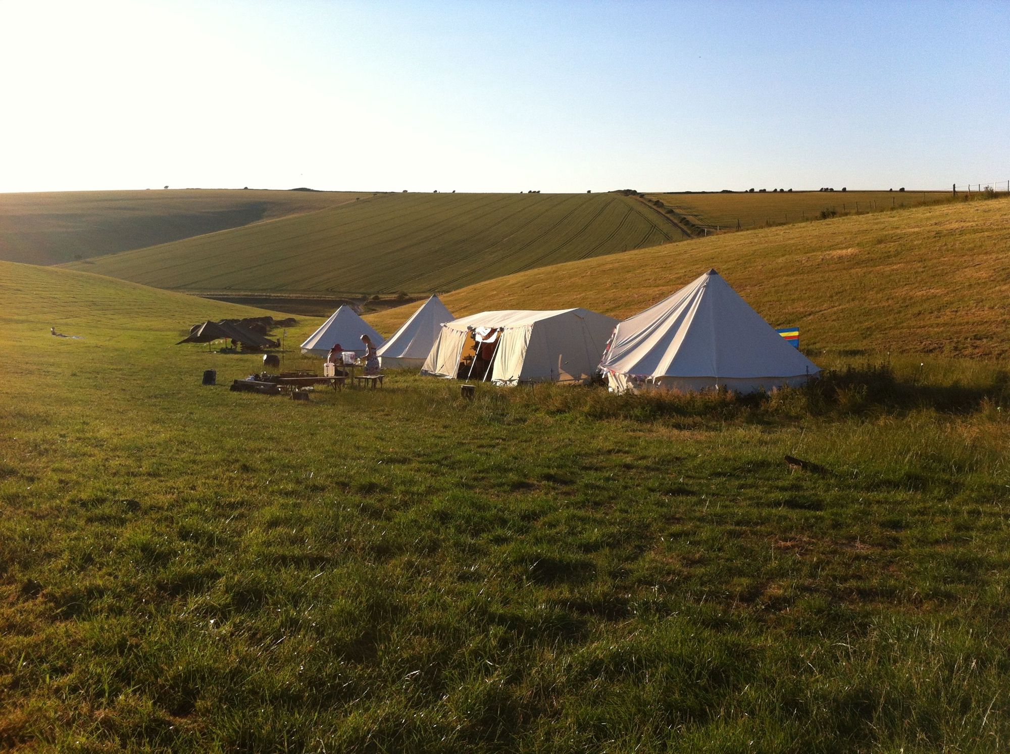 Exclusive Hire Campsites & Glamping Sites