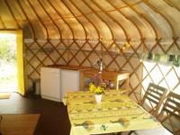 Large Yurt 2-4 pers