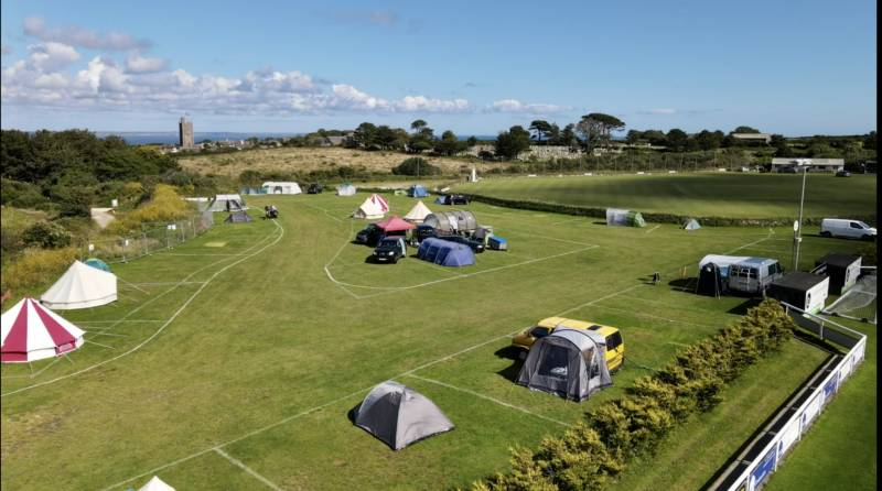 Mousehole Camping Trungle Parc, Paul, Mousehole, Penzance