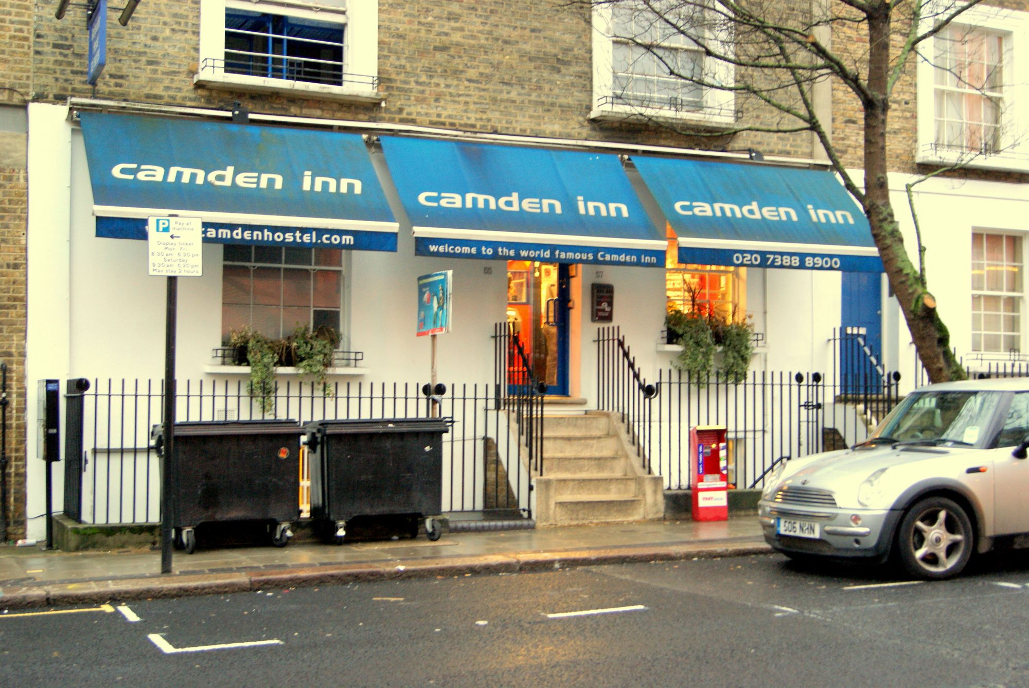 Hostels in Camden holidays at Cool Places