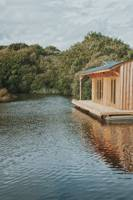 Serene Floating Houseboat in Pembrokeshire