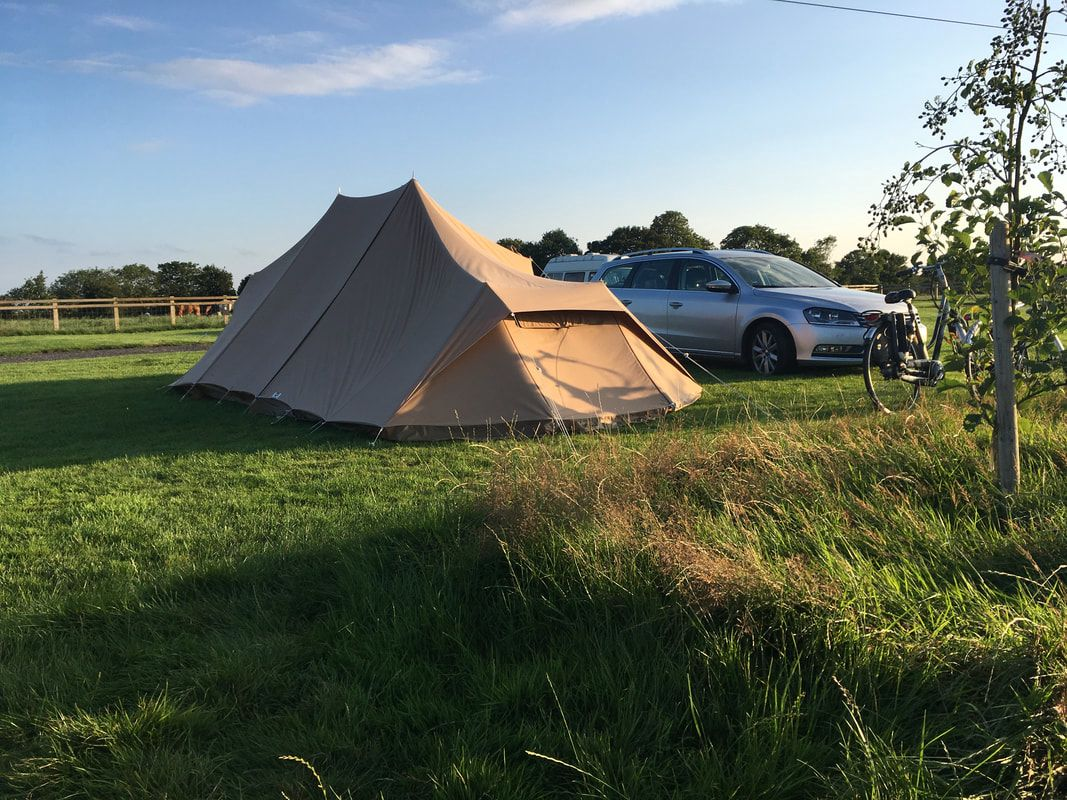 Glamping in East Riding of Yorkshire holidays at Glampingly