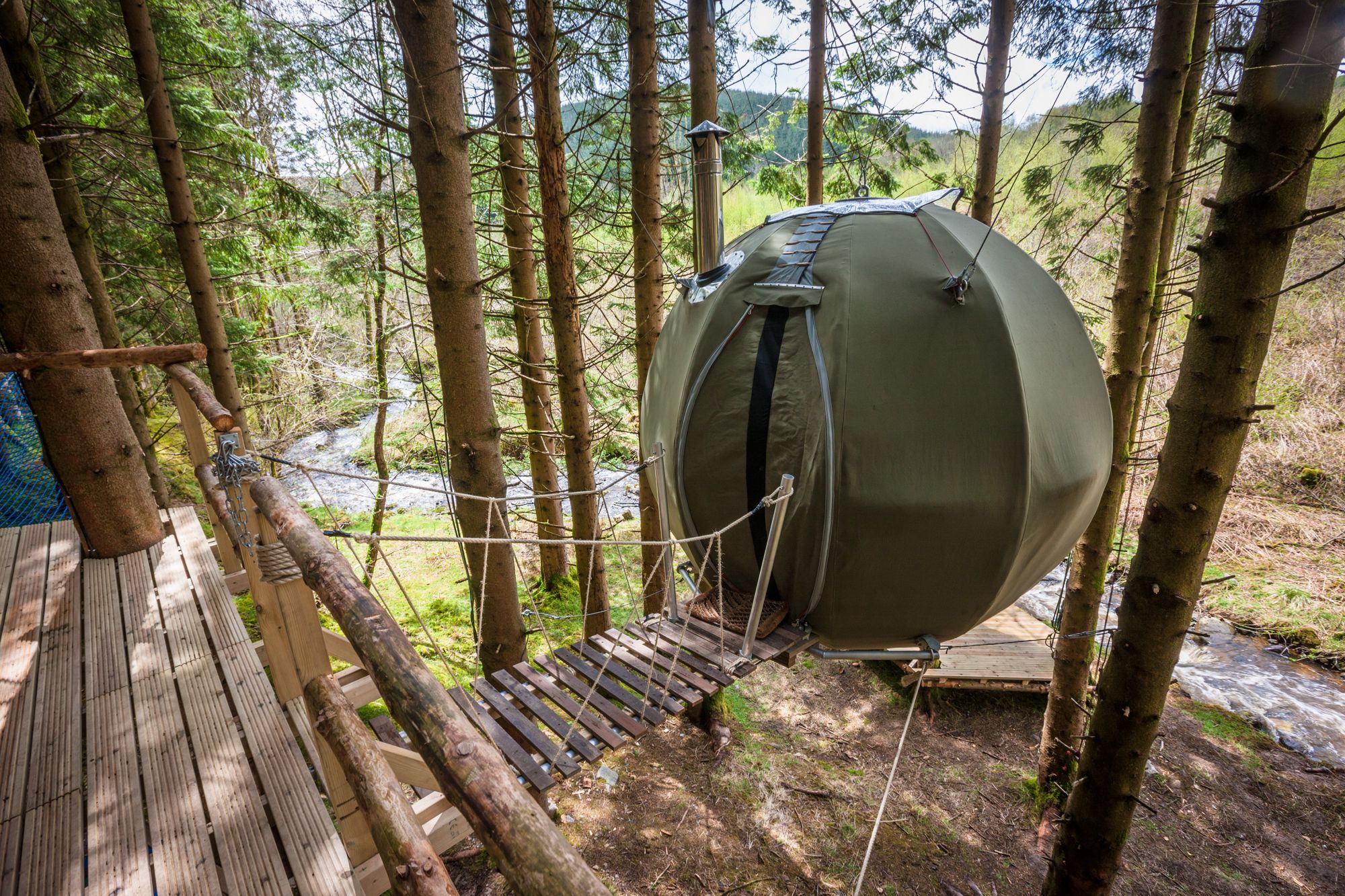 Woodland Glamping – Glamping in the Woods – Cool Camping