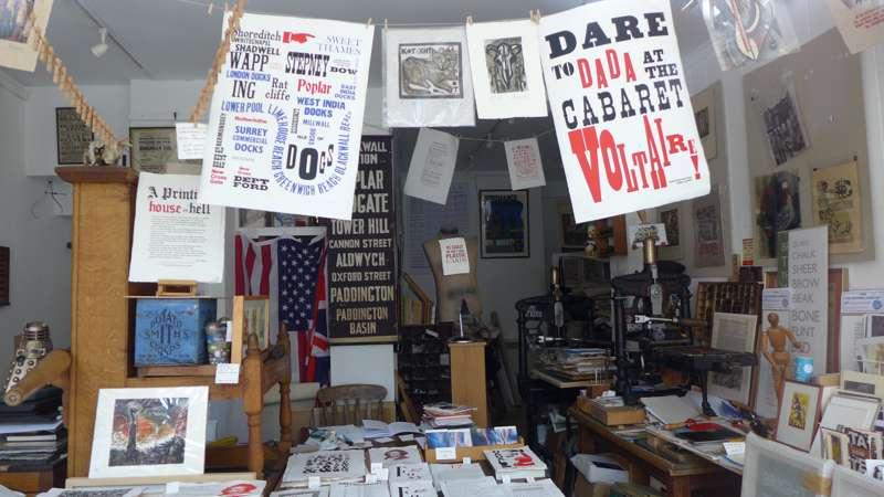 The Tom Paine Printing Press & Press Gallery