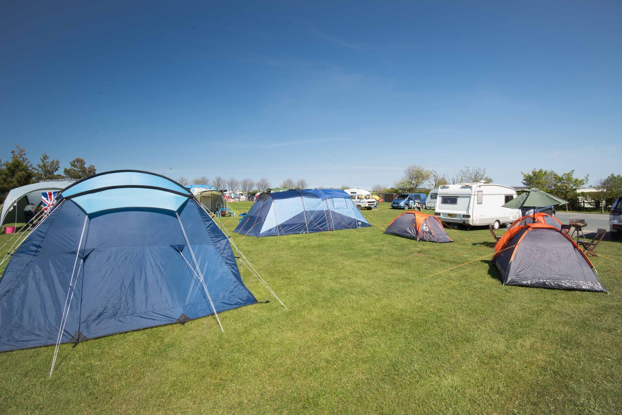 Campsites you can book online