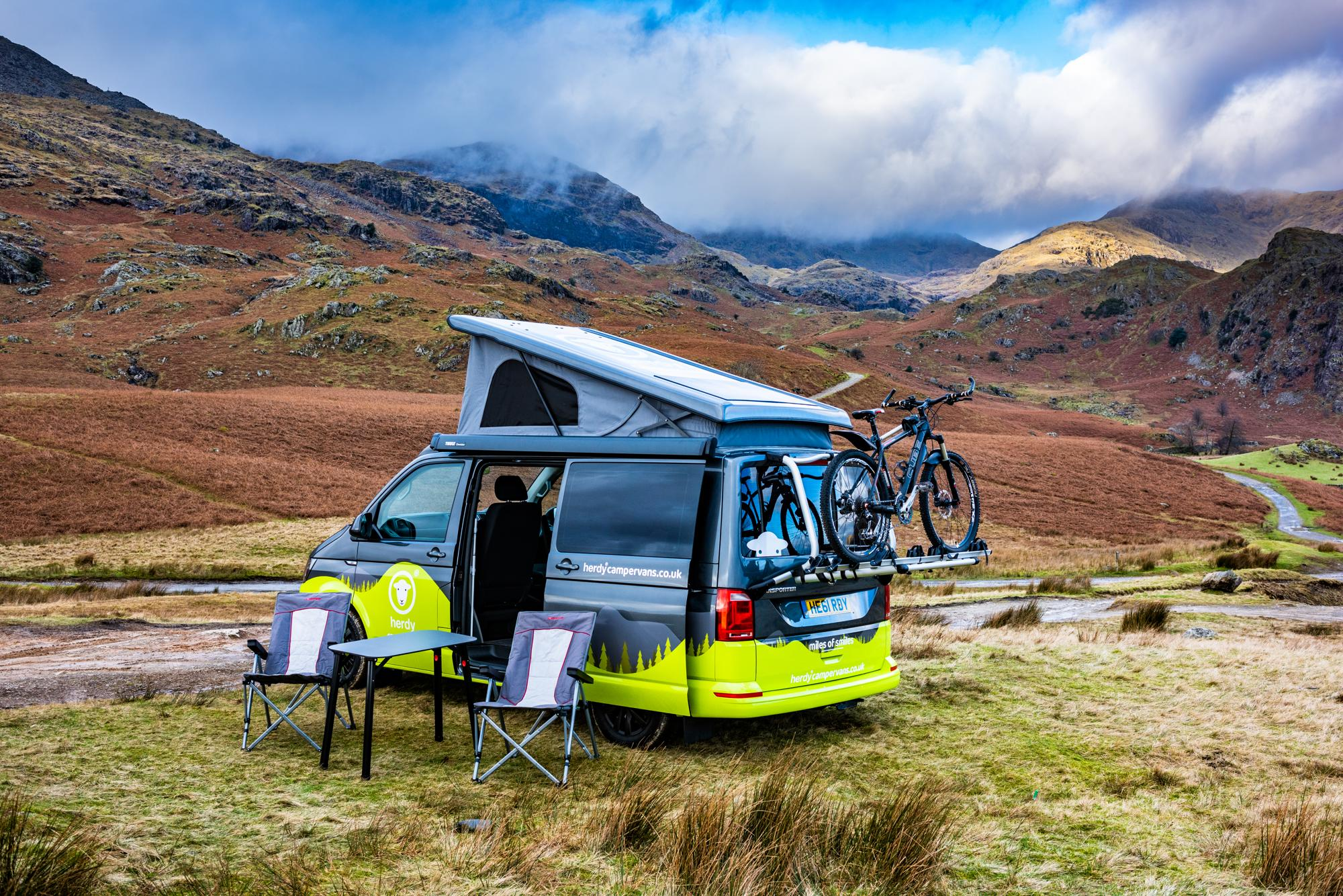 Campervan Hire in the Lake District