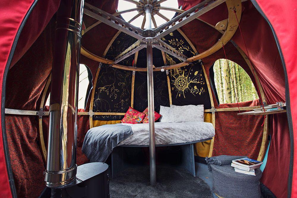 Red Kite Tree Tents Powys