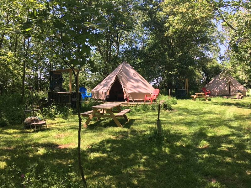 Hornbeam the Woodland Bell Tent