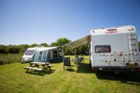 Meadow Caravan Pitch - Wild Camping