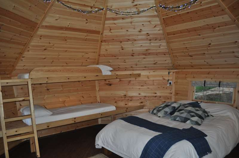 Meadowsweet Cabin - ensuite