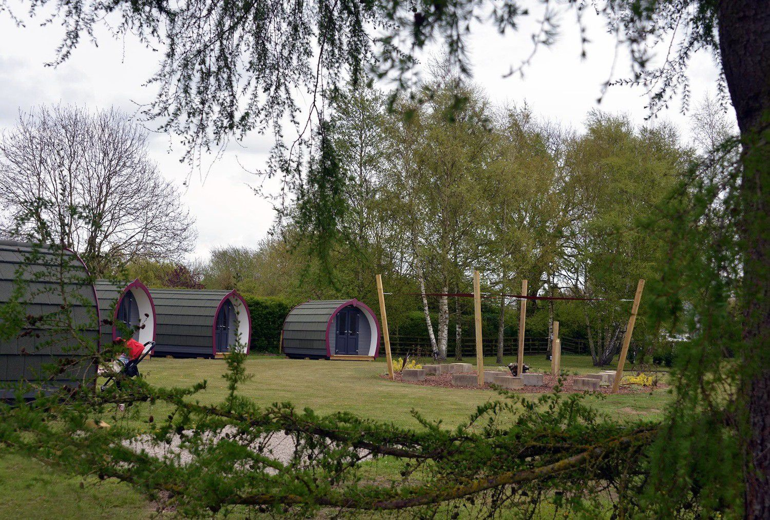A glampsite designed for cyclists, making the ideal base to explore Yorkshire's extensive network of cycling routes.