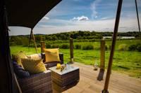 Boutique safari lodge, above a gorgeous Stirlingshire nature reserve