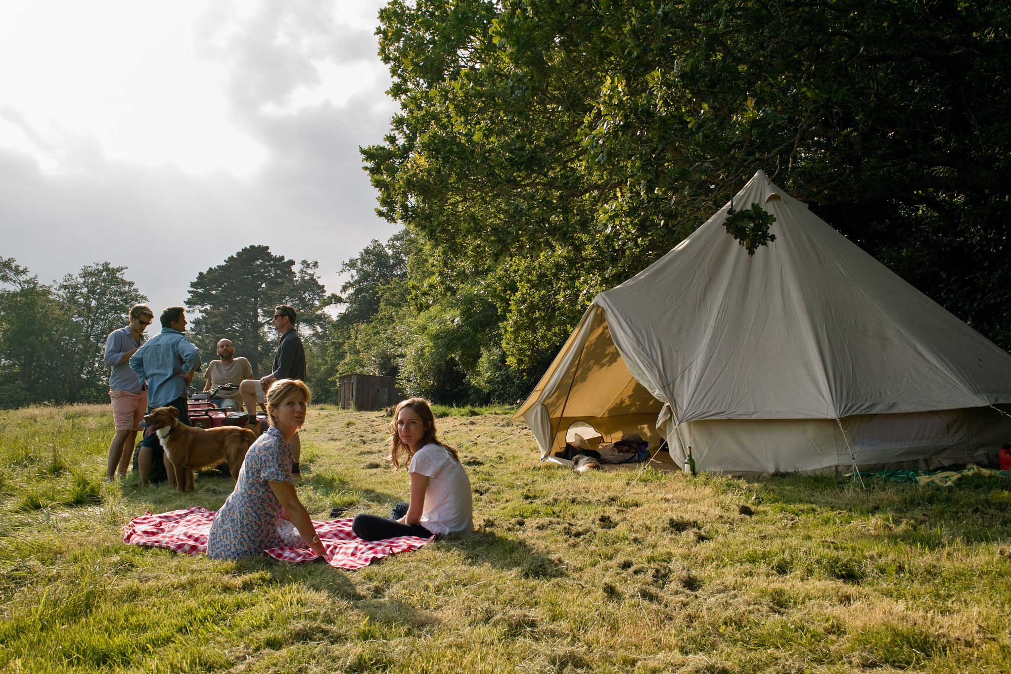 Campsites in Wimborne Minster holidays at Cool Camping