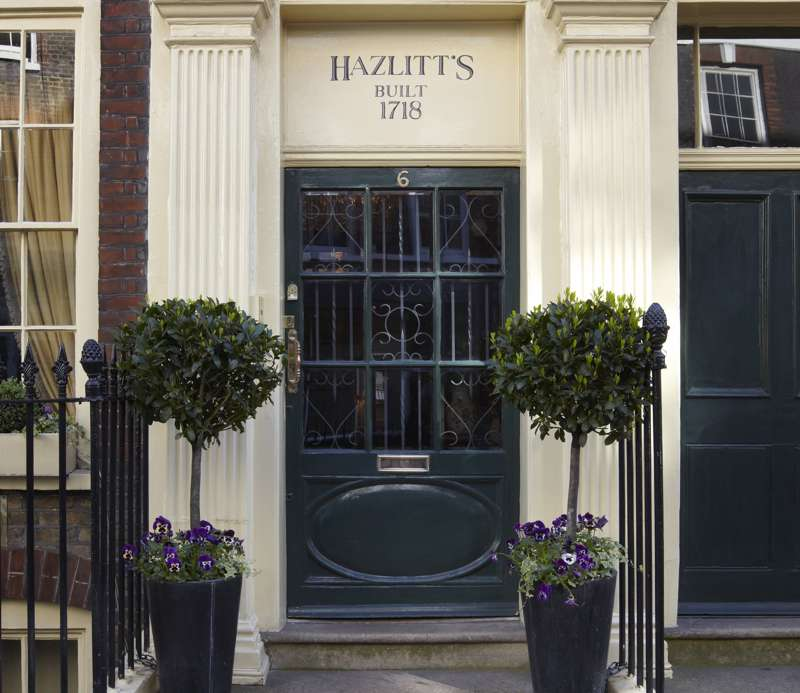 Hazlitt's 6 Frith Street Soho London