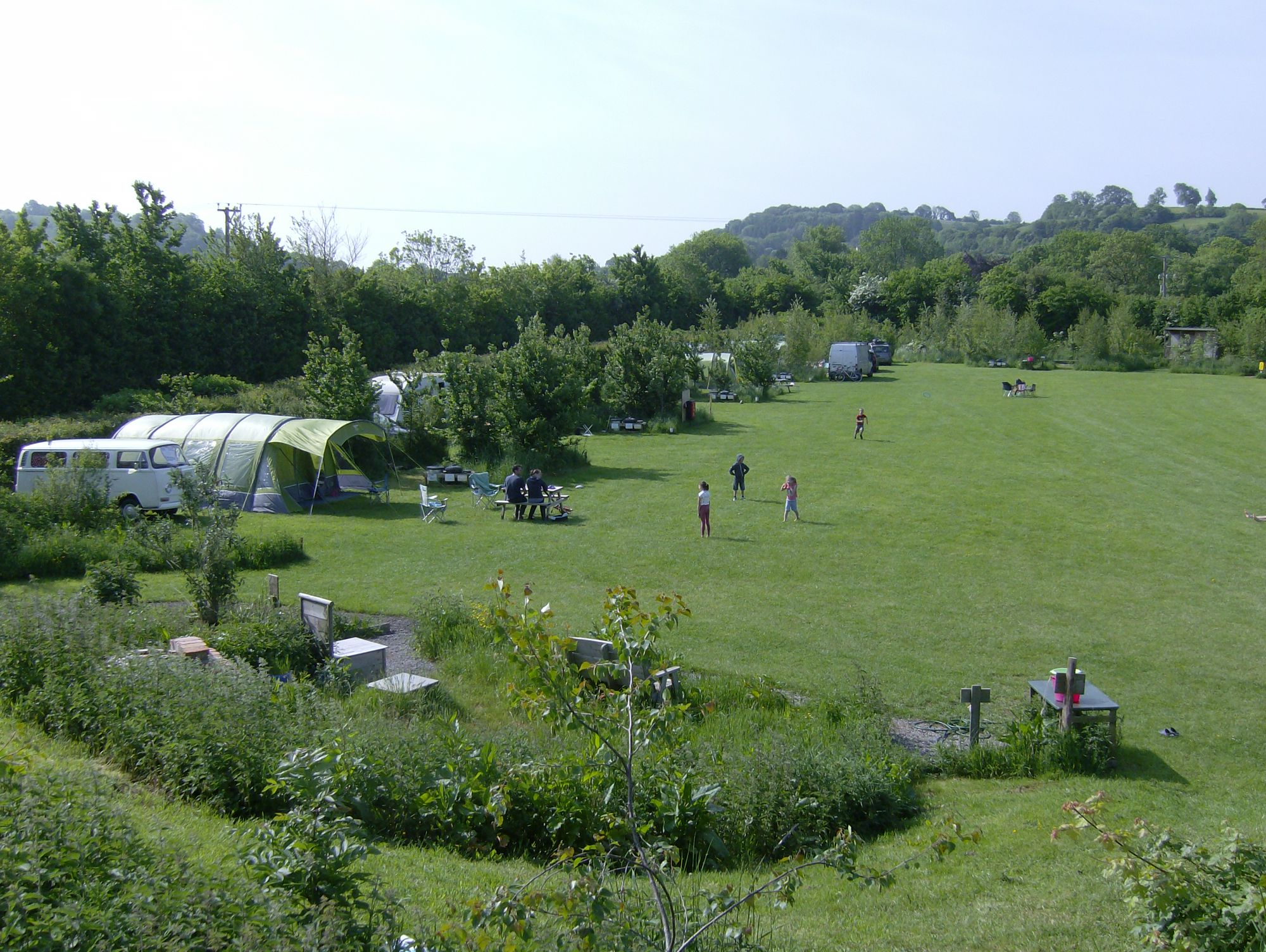Campsites in Somerset - campsites uk england somerset at Cool Camping