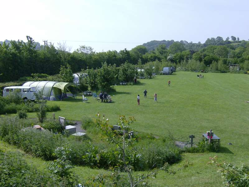 Wookey Farm Campsite: Eco-friendly, campfire-friendly, family-friendly camping on the farm – plus Somerset's famous Wookey Hole caves on the doorstep.