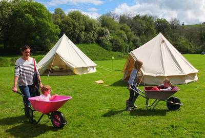 Camping at Ynysfaen Ynysfaen Cwmwysg, Trecastle, Brecon, Powys LD3 8YF