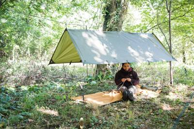 Woodland Glade (13) (Hammock/Tarp and Bivi bag camping only NO TENTS)