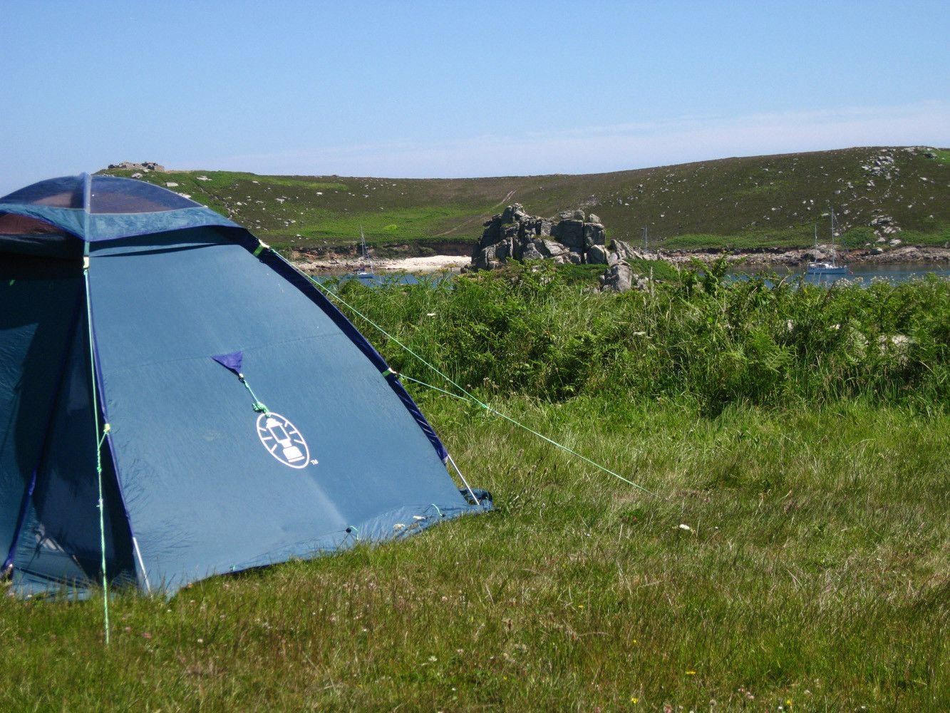 Campsites in Bryher holidays at Cool Places