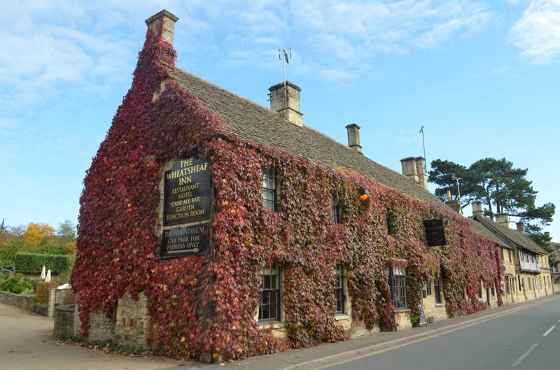 The Wheatsheaf Inn & Hotel West End Northleach  Gloucestershire GL54 3EZ