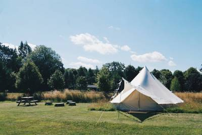 Amber's Bell Tent Camping at Mannington Hall Mannington Hall, Mannington, Norwich, Norfolk NR11 7BB