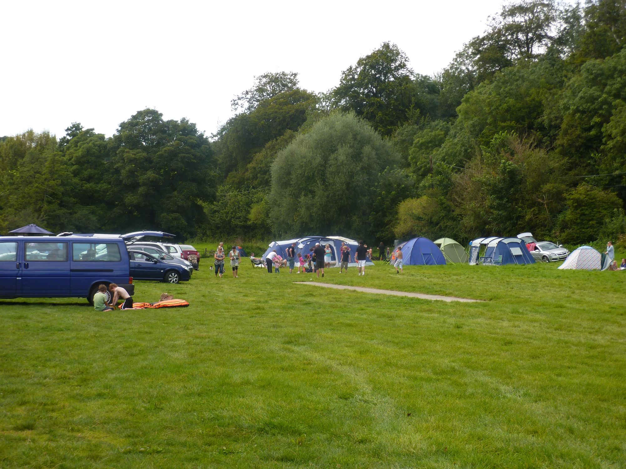 Campsites in Trowbridge holidays at Cool Camping