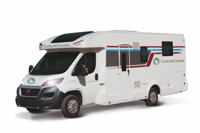 Galaxy 4 Motorhome Sleeps